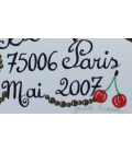 Paris 2007 signed silkscreen poster