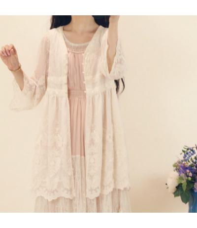 Magnifique manteau tout en dentelle doublé Romantique Mori girls Japon T36/38